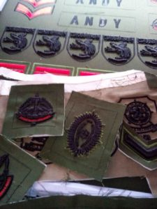 bordir emblem TNI