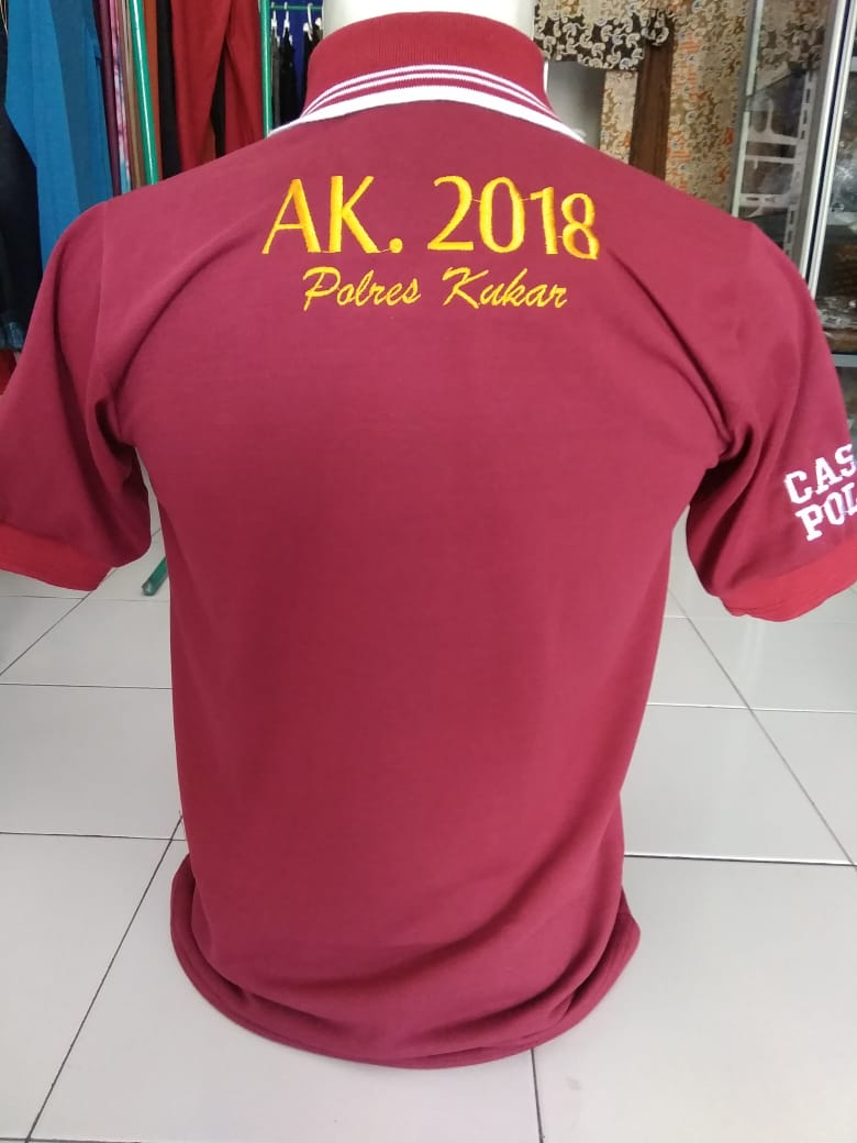 Kaos Polo Bordir Custom Pabrik