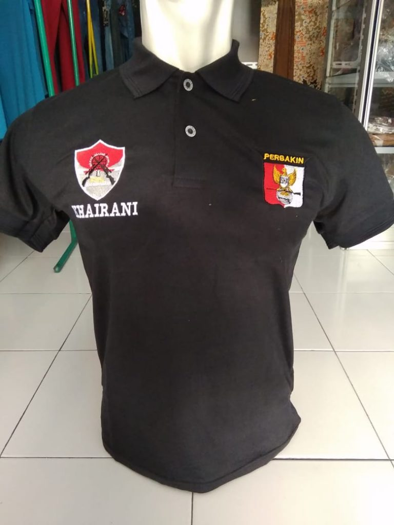 Polo Bordir Custom
