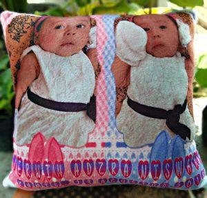 bantal lahiran custom