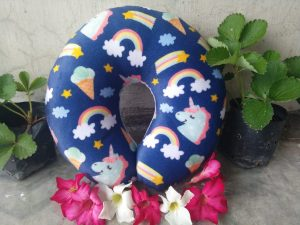 bantal leher custom