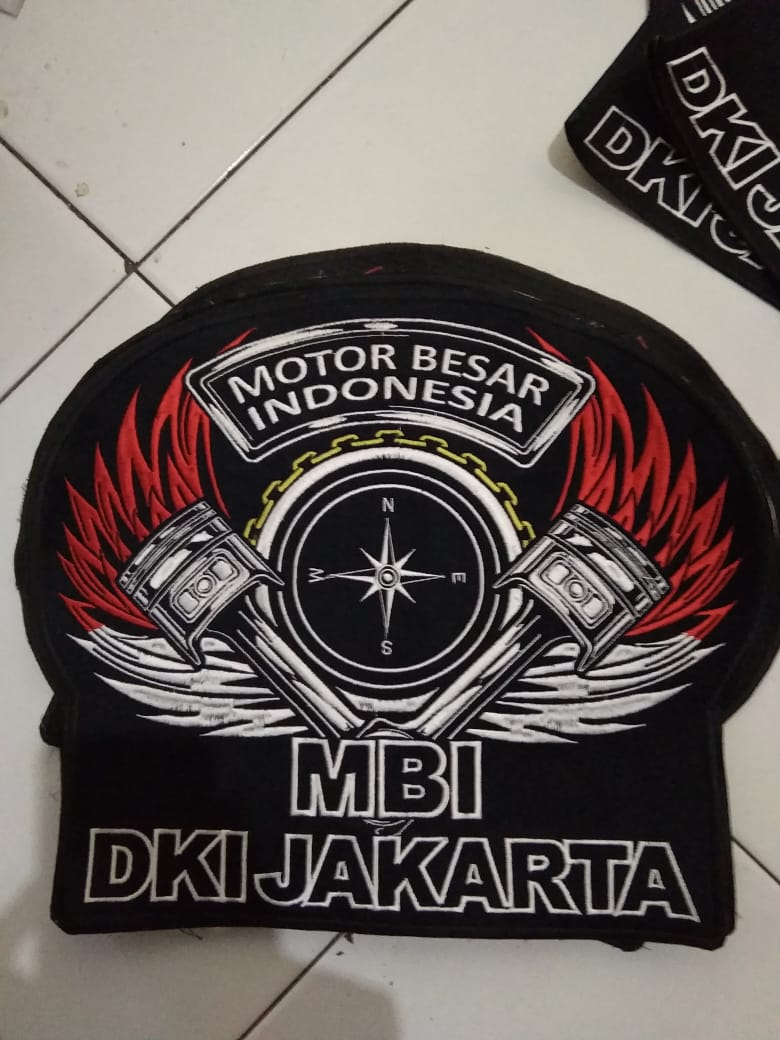 bordir patch besar 40cm